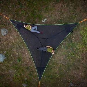 Hammock Heavy Duty Mat Triangle Hammocks Tent Portable