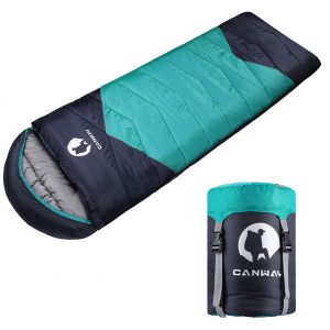 Sleeping Bag Lightweight and Waterproof for Warm & Cold Weather