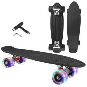 LOVELY DECOR Skateboard Cruiser Complete
