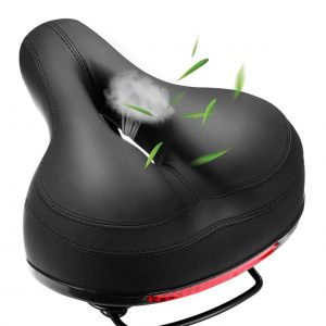 Comfortable Bike Seat Waterproof Replacement Leather