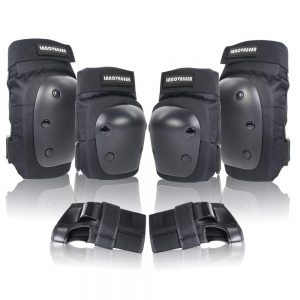 LANOVAGEAR Knee Elbow Pads with Wrist Guard