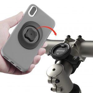 Bike Phone Mount, Aluminum Cell Phone Holder for Bike
