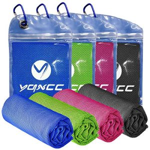 Soft Breathable Chilly Towel for Yoga Ice Towel for Neck