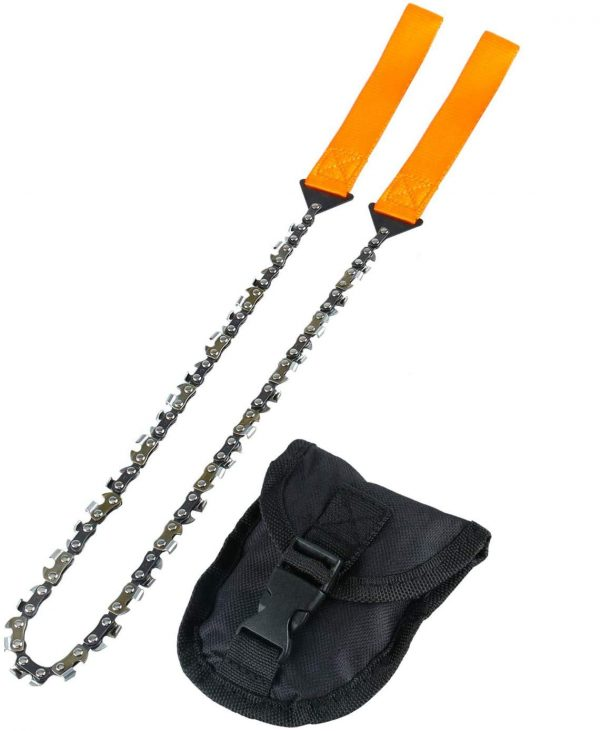 Pocket Chainsaw 26 Inch Long Chain Camping, Hunting