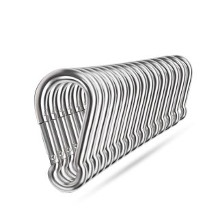 Ekunbuy Stainless Steel Spring Snap Hooks