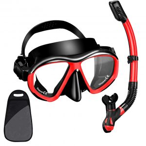Dry Snorkeling Gear Panoramic Wide View Mask