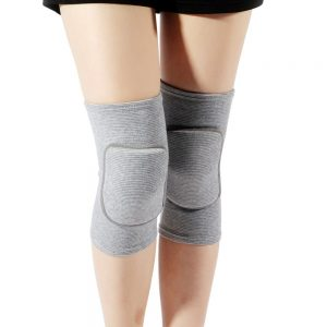 Soft Kneepads Cotton nee Protector Guards for Athletic Use