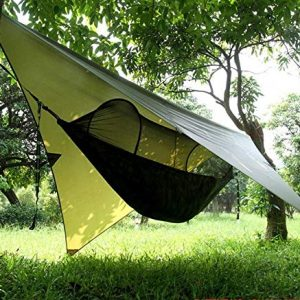 Travel Camping Hammock with Mosquito Bug Net Tent