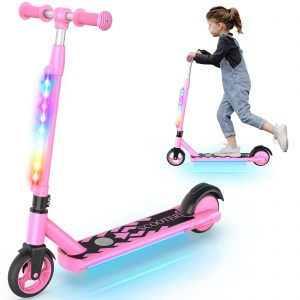 Kick to Start Electric Scooters for Boys and Girls