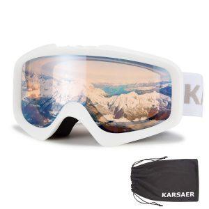 Anti-Fog Ski Goggles Dual-Lenses