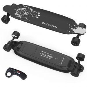 COOL&FUN Electric Skateboard with Remote Control
