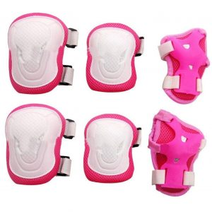 Knee Elbow Wrist Protective Pads Set for Skateboard