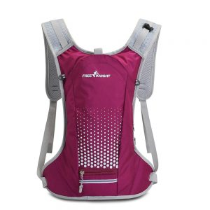 Cycling Backpack with Helmet Organizer Pocket
