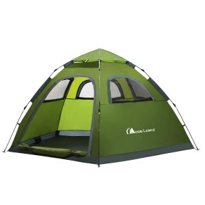 Instant Pop Up Tent Family Camping Tent 4-5 Person
