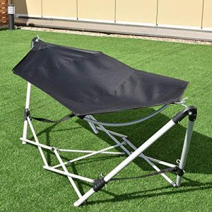 Portable Hammock with Camping Bed Folding with Carry Bag