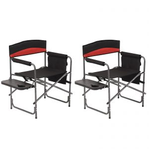 Portable Chair Camp Chair Oversize Padded Seat