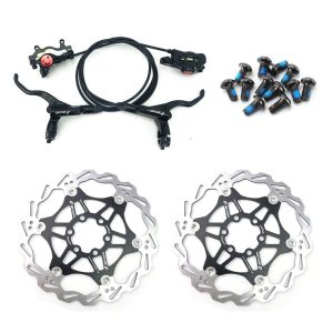 Disc Brakes Mountain Bike Sets Front & Rear Set with Floating Disc Rotor