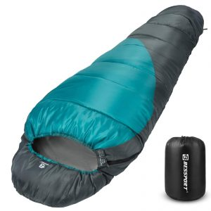 Lightweight Warm and Washable, for Hiking Mummy Sleeping Bag