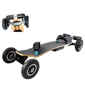 Electric Skateboard Offroad for Adults, Longboard Mountainboard with Remote