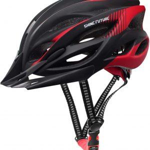 SHINEFUTURE Adjustable Adult Bike Helmet
