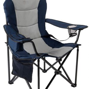 Outdoor Camping Chair with Lumbar Support
