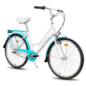 Retro-Styled Hybrid Cruiser Bike for Womens