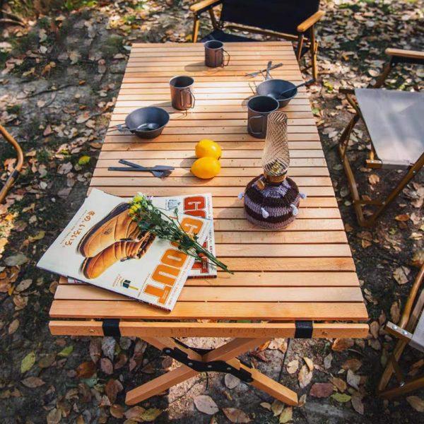 Outdoor Folding Portable Picnic Table