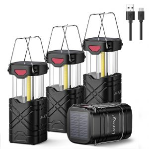 Rechargeable LED Lanterns Solar Battery Powered