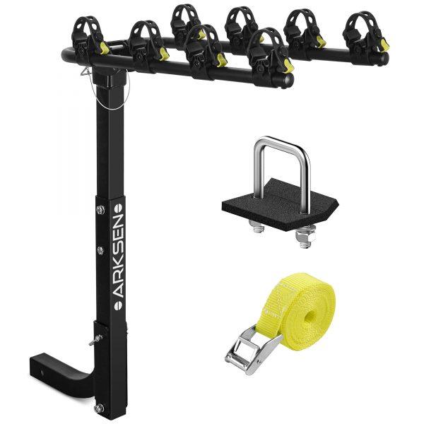 Arksen Premium 4-Bike Carrier Rack Hitch