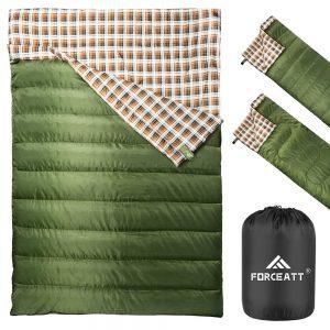 Double Sleeping Bag Warm Sleeping Bag for Outdoor