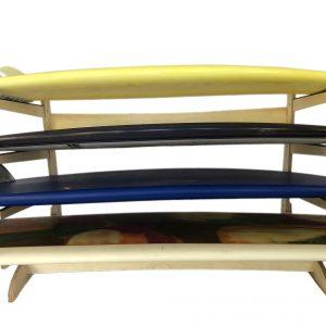 Steves Rack Shack 4 Space Horizontal Surfboard