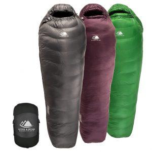 Ultra Lightweight Hydrophobic Sleeping Bag
