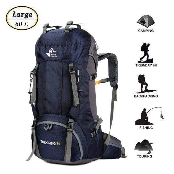 Waterproof Lightweight Hiking Backpack 60L