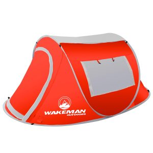 Camping Water Resistant Barrel Style Tent 2 Person