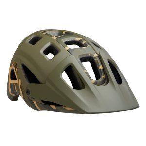 Mountain Bike Helmet Cycling Head Protection with Visor & Camera Mount