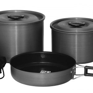 Camping Cookware Outdoor Cook Set with Storage Bag