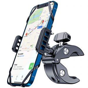 Motorcycle Phone Mount Super Stable Phone Bike Mount with Universal Mountain Handlebar