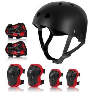 Rayhome Kids Helmet Sets for 8-14 Years Boy Girl