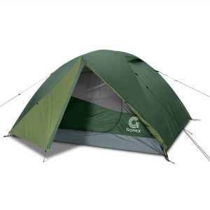 4 Person Dome Tent Windproof & Waterproof Camping Tent