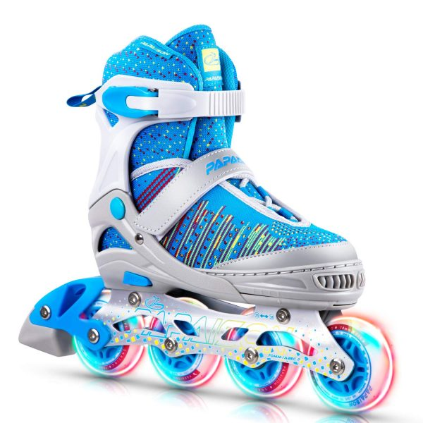 PAPAISON Inline Skates for Boys and Girls
