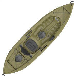 Olive Angler Sit-On-Top Kayak