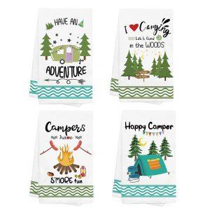 Camping Dish Towels and Dish Cloths