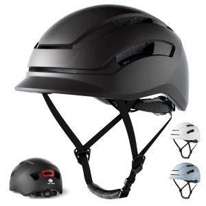 GLAF Adult Bike Helmet with Rear Light
