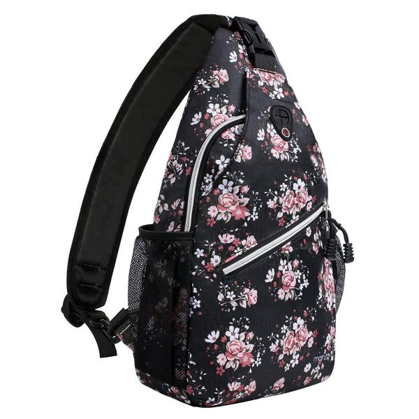 Travel Hiking Daypack Pattern Rope Crossbody Shoulder Bag