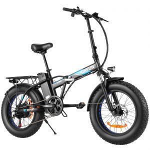 """ANCHEER 20"""" 4.0 Fat Tire Electric Dirt Bikes"""