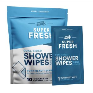 Large Body Wipes for Hygiene, Camping Wipes, Gym & Travel