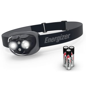 Midnight Black LED Headlamp with Smart Dimming Technology