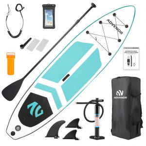 Extra Wide Inflatable Stand Up Paddle Board