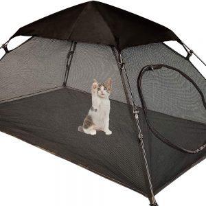 Tent Outdoor Playpen Pop Up Pet Cat