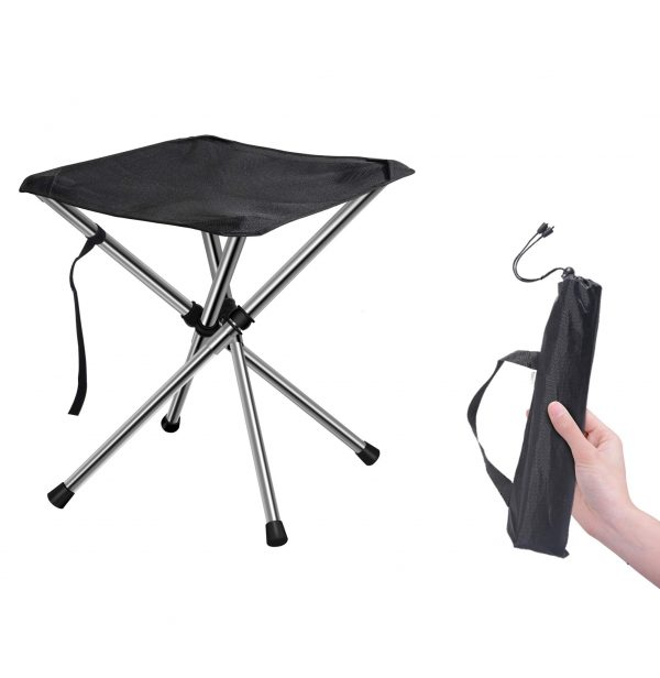 Foldable Camping Ultralight to Hiking, Beach, Camping, Fishing Unfolded